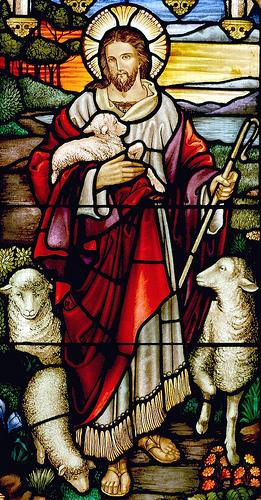 a shepherd Jesus photo