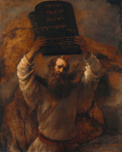 Rembrandt ~ The Ten Commandments