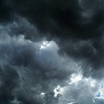 storm clouds photo