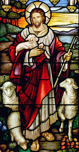 a shepherd Jesus photo