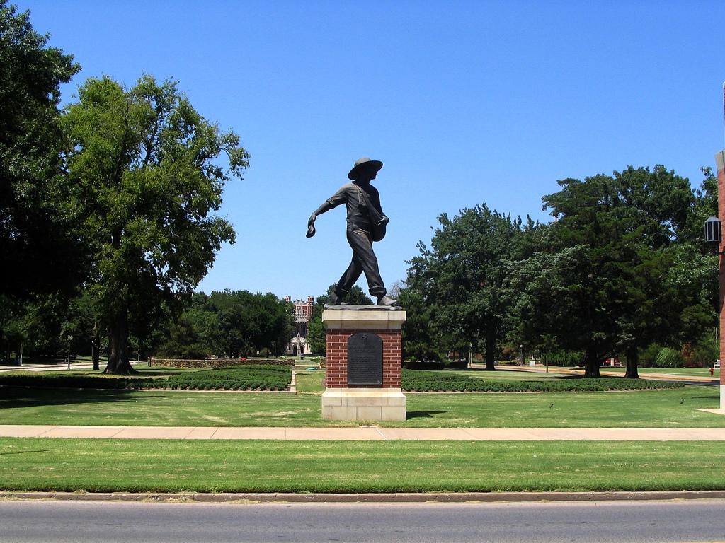 university of Oklahoma Seed Sower photo