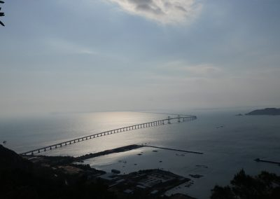 Cross-Sea Bridge between Shantou and Nan'ao Island 11.08 km 6.9 miles