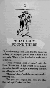 Chapter 2 What Lucy Found There